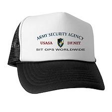 SIT Ops Worldwide Trucker Hat