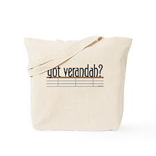 Got Verandah? Tote Bag