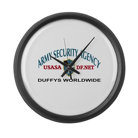 Duffys Worldwide Large Wall Clock