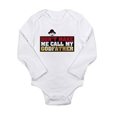 Godfather Long Sleeve Infant Bodysuit