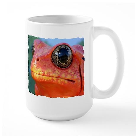ORANGE POISON DART FROG Large Mug
