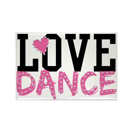 LOVE DANCE Magnets