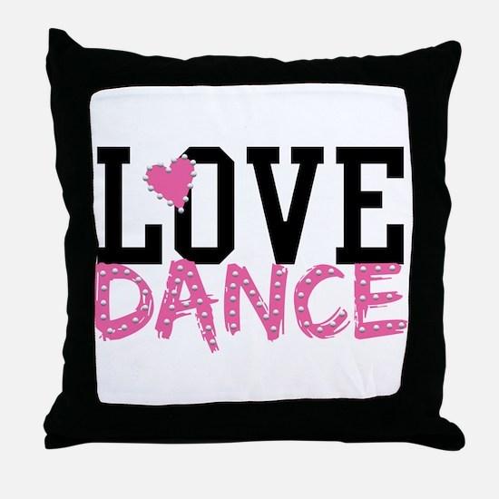 Jazz dance Throw Pillow