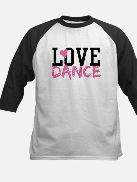 LOVE DANCE Baseball Jersey