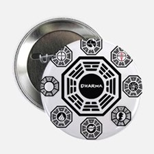 """Dharma Stations 2.25"""" Button"""