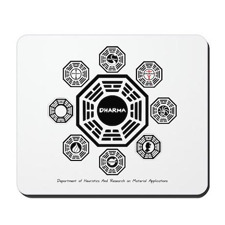 Dharma Stations Mousepad