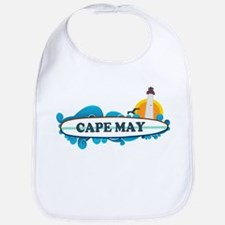 Cape May NJ - Surf Design Bib
