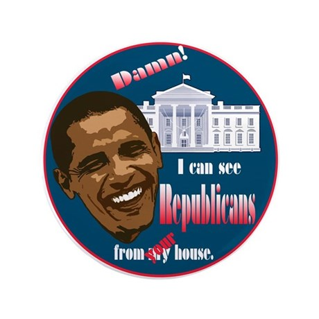 """The 2010 Change 3.5"""" Button (100 pack)"""