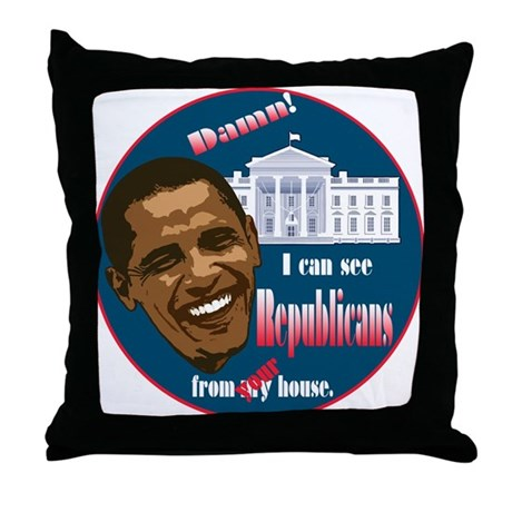 The 2010 Change Throw Pillow