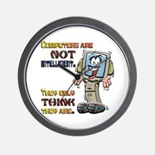 Computers Only Think They Are Wall Clock