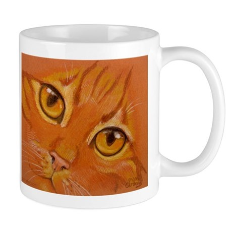 "Mug (small) ""Orange Tabby"""