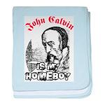 Calvin baby blanket