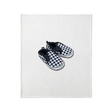 Baby Racing Shoes Throw Blanket
