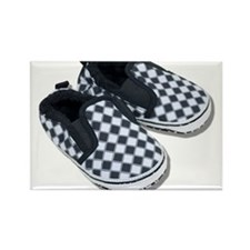 Baby Racing Shoes Rectangle Magnet