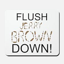 Flush Brown Mousepad