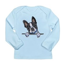 Curious Boston Long Sleeve Infant T-Shirt