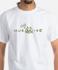 MusCATine (olive) Shirt