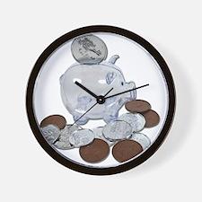Big Savings Bank Wall Clock