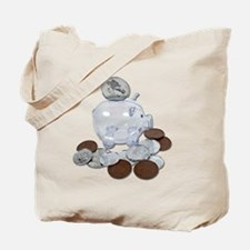 Big Savings Bank Tote Bag