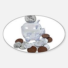 Big Savings Bank Decal