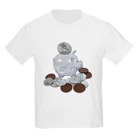 Big Savings Bank Kids Light T-Shirt