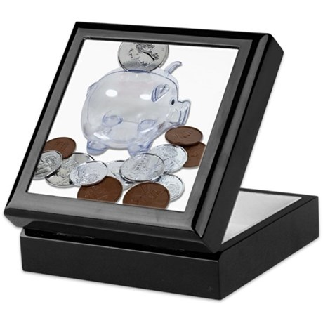 Big Savings Bank Keepsake Box