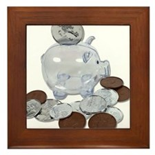 Big Savings Bank Framed Tile