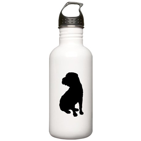 Shar Pei Silhouette Stainless Water Bottle 1.0L