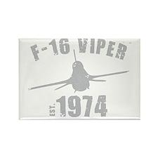 Varsity F-16 Rectangle Magnet