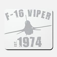 Varsity F-16 Mousepad