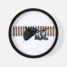 Cowboy Homestead Wall Clock
