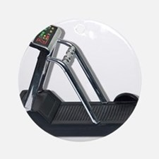 Exercise Treadmill Ornament (Round)