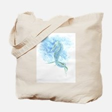 watercolor seahorse Tote Bag