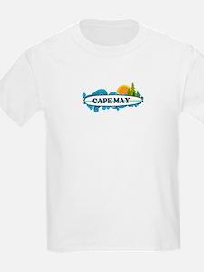 Cape May NJ - Surf Design T-Shirt