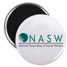 nasw 2 color logo Magnets