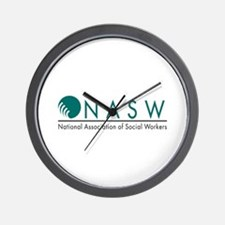 Cute National association of social workers Wall Clock