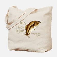 Wishing I Was Fishing Tote Bag