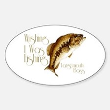 Wishing I Was Fishing Decal