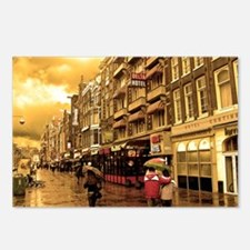 Hotel Row -- Amsterdam Postcards (Package of 8)