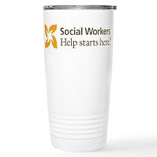 Cute Social work themes Travel Mug