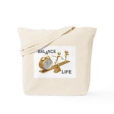 Balance Life Tote Bag