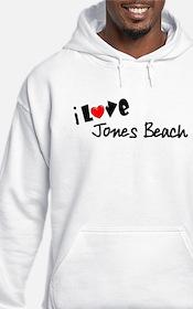 I Love Jones Beach Hoodie