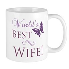 World's Best Wife Small Mugs