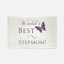 World's Best Stepmom Rectangle Magnet