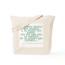 Hombres Necios Tote Bag