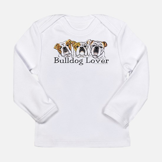 English Bulldog Lover Long Sleeve Infant T-Shirt