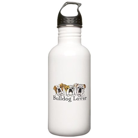 English Bulldog Lover Stainless Water Bottle 1.0L