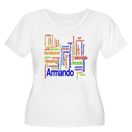 Personalized Name Word Clouds Women's Plus Size Sc