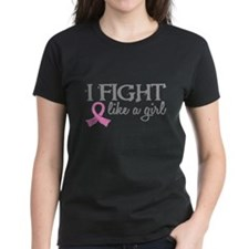 Licensed Fight Like a Girl 18 Tee