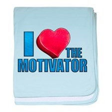 I Heart the Motivator Infant Blanket